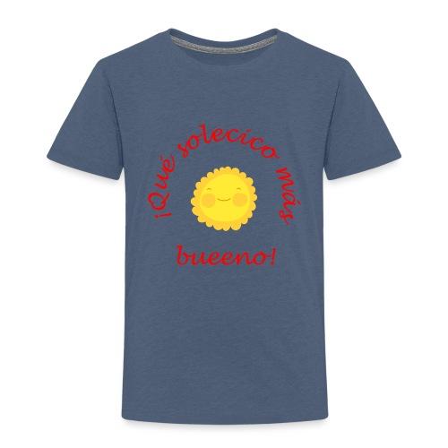 Solecico bueno - Camiseta premium niño