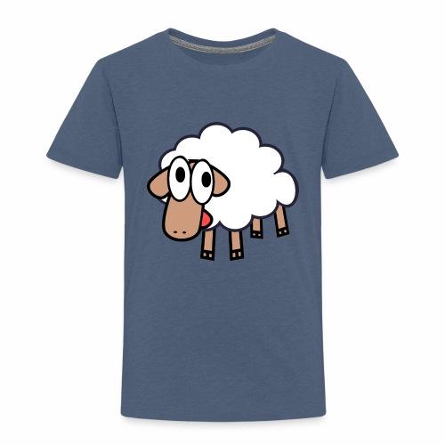 Sheep Cartoon - Kinderen Premium T-shirt