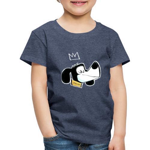 Kong Brego - Premium T-skjorte for barn