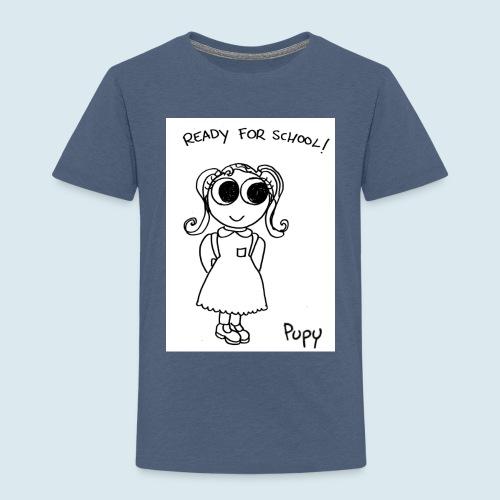 Pupy: ready for school! - girl - Maglietta Premium per bambini