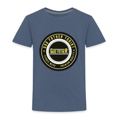 GOD FATHER LOGO 1 - Kids' Premium T-Shirt