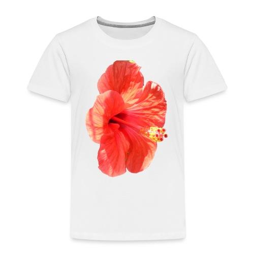 A red flower - Kids' Premium T-Shirt