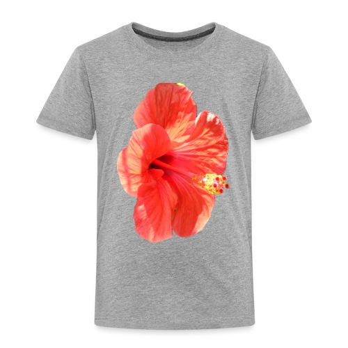 A red flower - Kids' Premium T-Shirt
