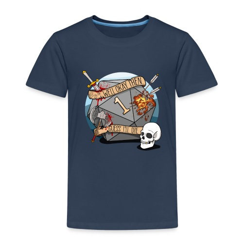 Arvelen kuolen - DND D & D Dungeons and Dragons - Lasten premium t-paita