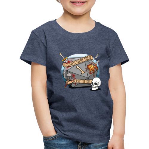 Devine je meurs - Donjons et dragons du MDN D & D - T-shirt Premium Enfant