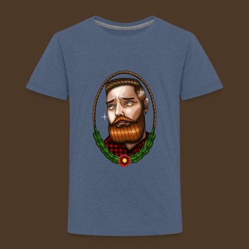 BeardMan - T-shirt Premium Enfant