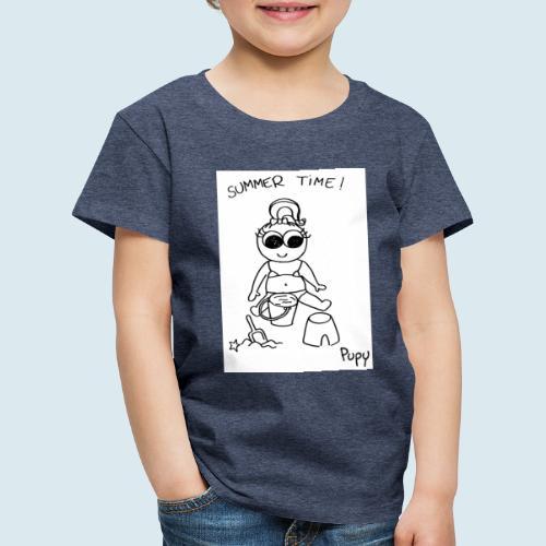 Pupy: summer time! - girl - Maglietta Premium per bambini
