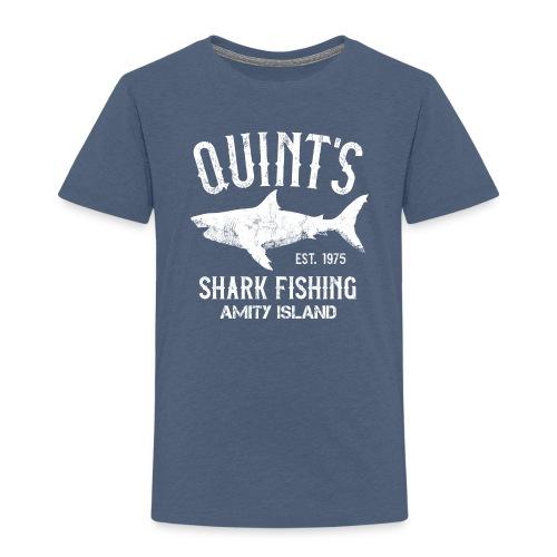 Quint's Shark Fishing Charters - Amity Island 1975 - Kids' Premium T-Shirt