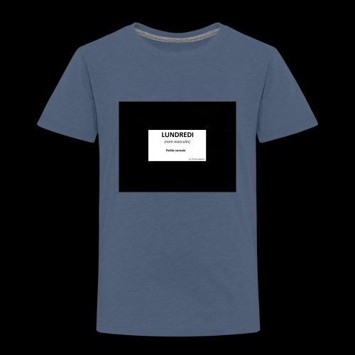 Jeu de mots - T-shirt Premium Enfant