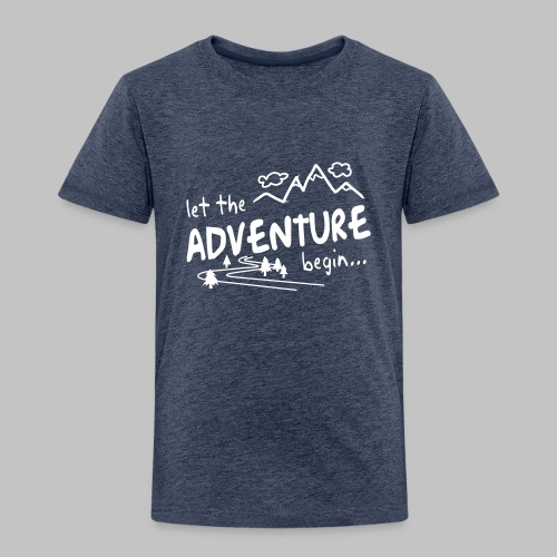 Let the Adventure begin - Kids' Premium T-Shirt