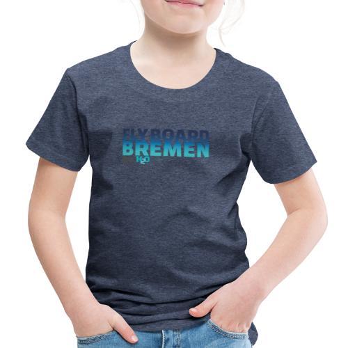 Flyboard Bremen Rock2O Logo - Kinder Premium T-Shirt