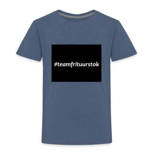 #teamfrituurstok - Kinderen Premium T-shirt