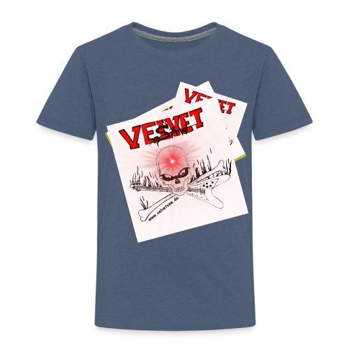 Skull novaredwhitesmall jpg - Kinder Premium T-Shirt