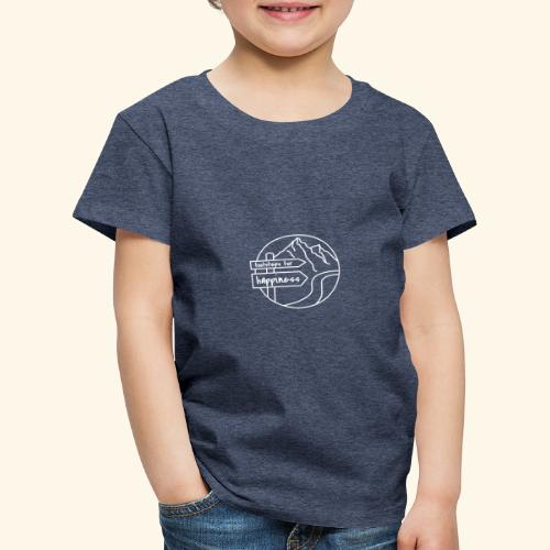 Footsteps for Happiness - Kinder Premium T-Shirt