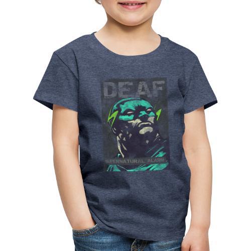 Deaf Supernatural Alarm Vintage - Kinder Premium T-Shirt