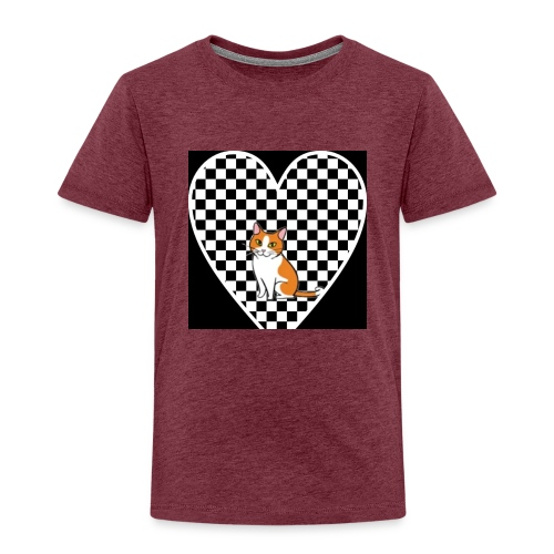 Charlie the Chess Cat - Kids' Premium T-Shirt