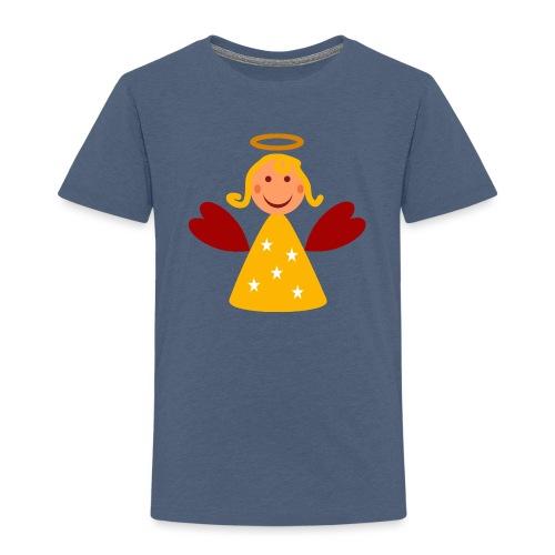 Schöner Engel mit Heiligenschein Süßes Engelchen - Kinder Premium T-Shirt