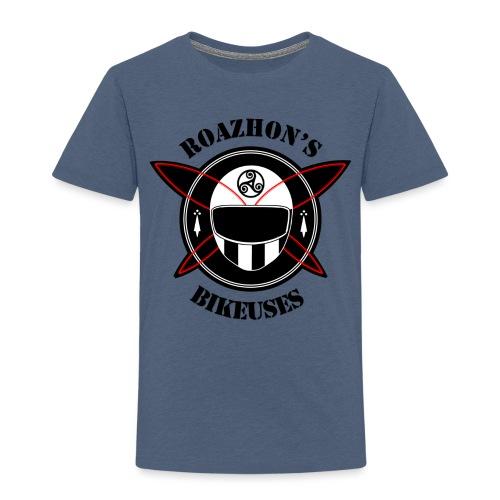 Roazhon's Bikeuses Rennes - T-shirt Premium Enfant