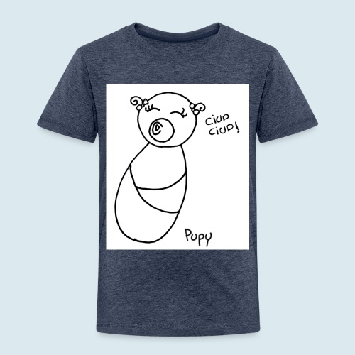 Pupy: ciup ciup! - girl - Maglietta Premium per bambini
