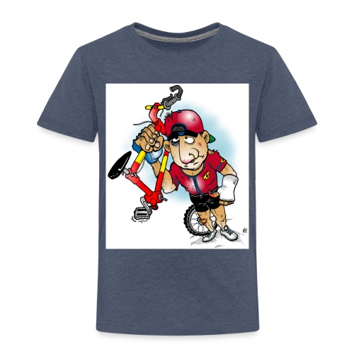BoarderMax Bike Crash - Kinder Premium T-Shirt