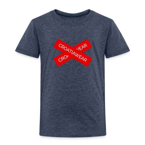 CroatiaWear '' X '' design - Kids' Premium T-Shirt