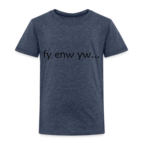 'My Name Is...' Welsh - Kids' Premium T-Shirt