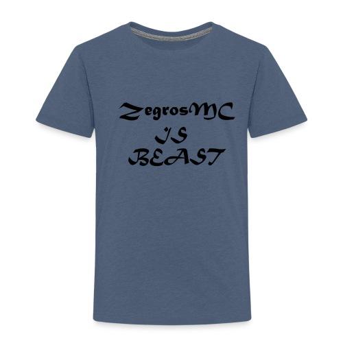 ZegrosMC Is Beast - Kinderen Premium T-shirt
