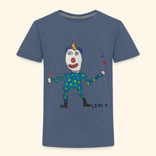 LeniT Clown - Lasten premium t-paita