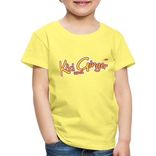 patame Kiki und Ginger Logo - Kinder Premium T-Shirt