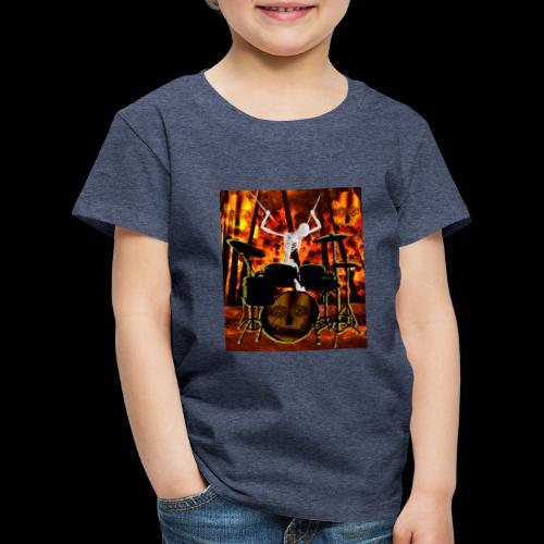 LE SQUELETTE BATTEUR - T-shirt Premium Enfant