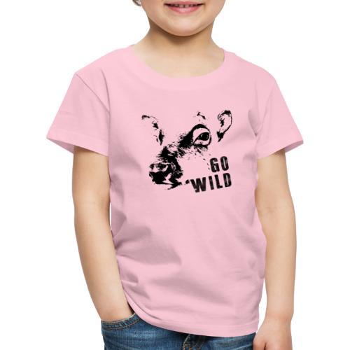 Go Wild - Kinder Premium T-Shirt