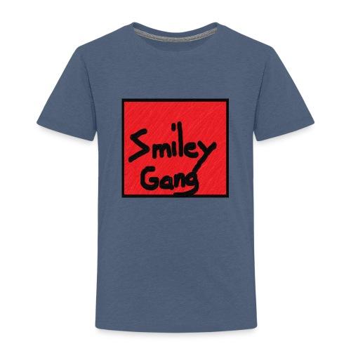 Smileygang - Premium T-skjorte for barn