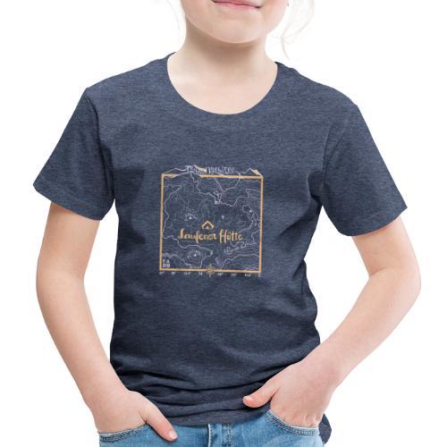 Laufener Hütte im Tennengebirge - Taco Yellow - Kids' Premium T-Shirt
