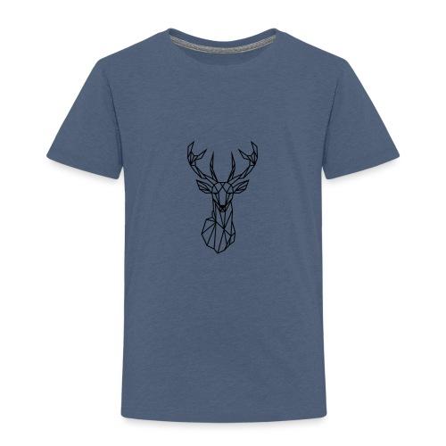 Deer Head - Camiseta premium niño