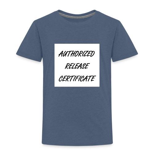 Certificate - Kinder Premium T-Shirt