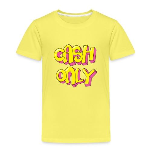 Cash only - Kinderen Premium T-shirt