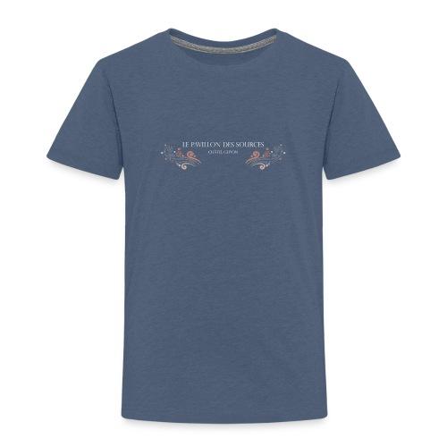 Vagues Couleur Dark - T-shirt Premium Enfant