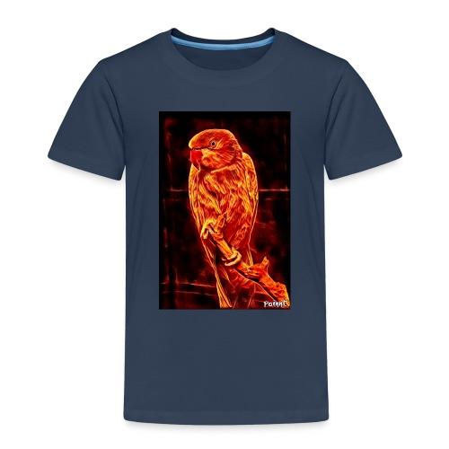 Bird in flames - Lasten premium t-paita
