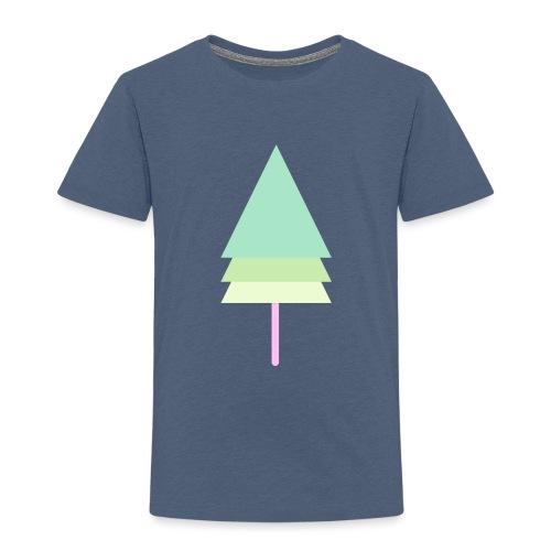 Tanne am Stiel - Kinder Premium T-Shirt