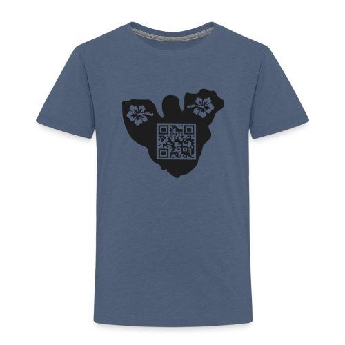 moorea tf3d hibiscus qrcode - T-shirt Premium Enfant