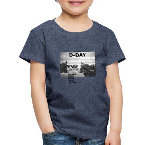 75 Jahre D-Day - Kinder Premium T-Shirt