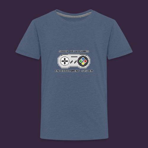 Super retrogames entertainment system - T-shirt Premium Enfant