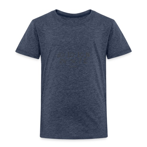 Helsinki Koordinaten - Kinder Premium T-Shirt