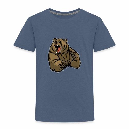méchant grizzli - T-shirt Premium Enfant