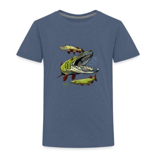 HAUKI Tekstiilit ja lahjat - Lasten premium t-paita