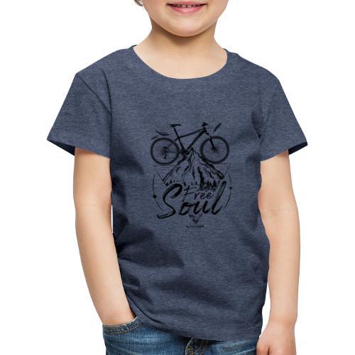 FREE SOUL black - Camiseta premium niño