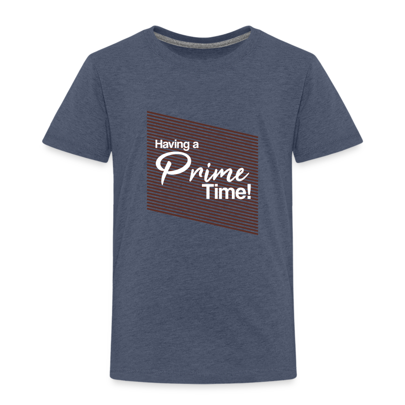 Having a Prime Time! bordeaux red - Kinder Premium T-Shirt