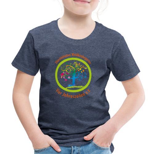Waki Logo cmyk mitSchrift - Kinder Premium T-Shirt
