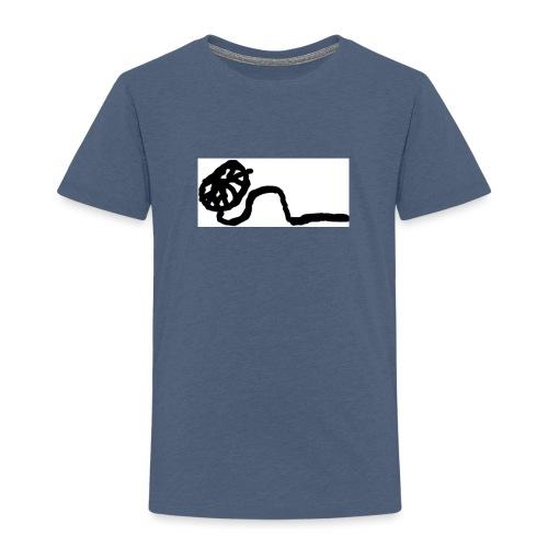 Stringy - Drawn - Kids' Premium T-Shirt
