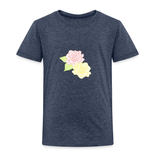 Flower child - Børne premium T-shirt